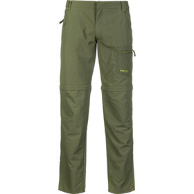 Meru Havelock Pantaloni con zip Uomo, four leaf clover